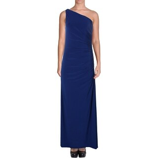 Laundry by Shelli Segal Womens Evening Dress Matte Jersey Ruched