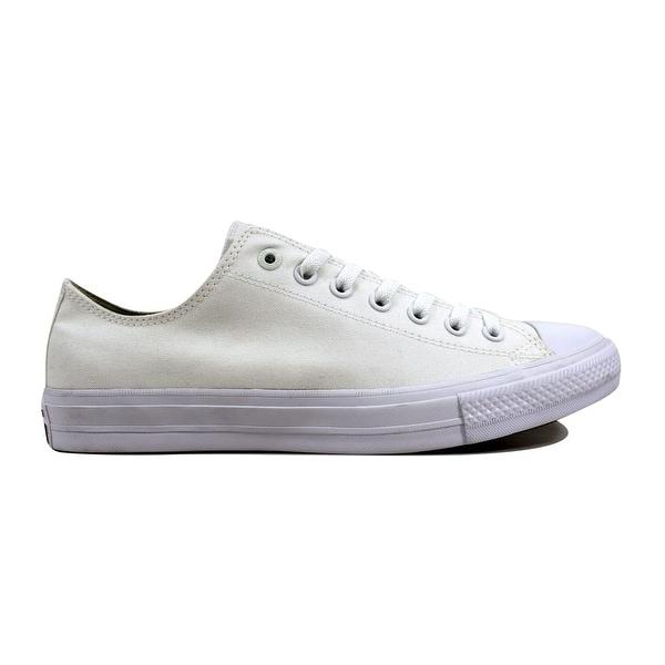 492f97b2c7b2 Shop Converse Men s Chuck Taylor II OX White White 150154C - Free ...