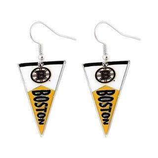 Boston Bruins NHL Pennant Earring