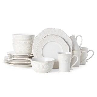 Pfaltzgraff Abby White 16 piece Dinnerware Set (Service for 4)