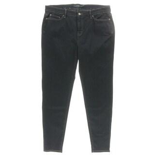 Ralph Lauren Womens Skinny Jeans Skinny Dark Wash