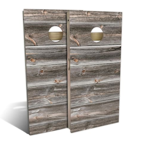 Country Living Weathered Cornhole Set - Choose Your Size