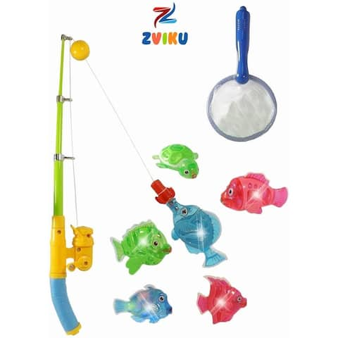 Magnetic Light Up Fishing Baby