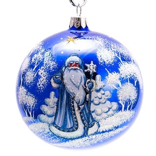 Link to STP Goods  Father Frost Ball Christmas Ornament Similar Items in Christmas Decorations