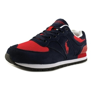 Polo Ralph Lauren Slaton Men  Round Toe Suede  Running Shoe