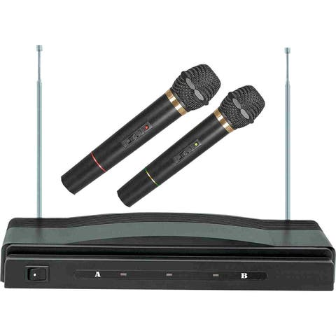 Supersonic SC-900 Supersonic Professional Wireless Dual Microphone System