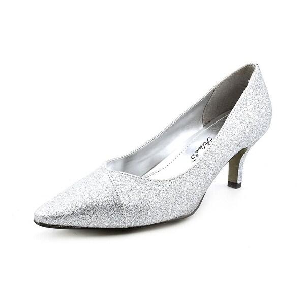 Easy Street Chiffon Women WW Pointed Toe Synthetic Heels