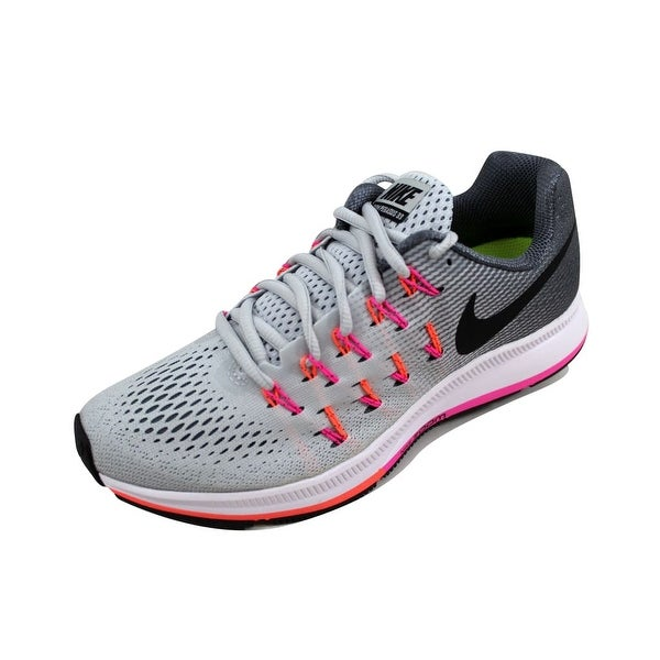 6b413e971b7f Shop Nike Women s Air Zoom Pegasus 33 Pure Platinum Black-Cool Grey ...