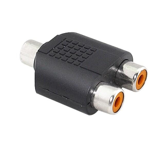 Shop Unique Bargains Mini Rca Plug To Dual Rca Jacks