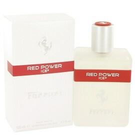 Ferrari Red Power Ice by Ferrari Eau De Toilette Spray 4.2 oz - Men