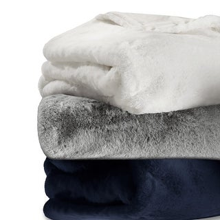 Link to Vera Wang Lapin Faux Fur Supersoft Throw Similar Items in Blankets & Throws