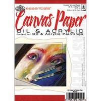 """6 Sheets - Essentials Canvas Artist Paper Pad 5""""X7"""""""
