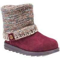 MUK LUKS Women's Patti Boot Almond/Marl