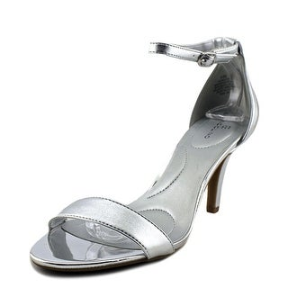 Bandolino Madia Women  Open Toe Synthetic Silver Sandals