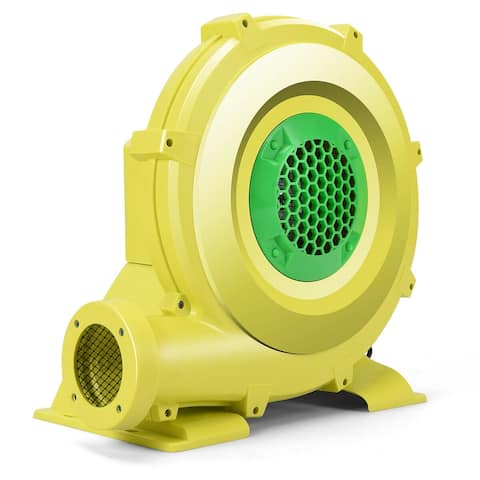 Costway Air Blower Pump Fan 735 Watt 1.0HP For Inflatable Bounce House - 15'' x 9'' x 16''