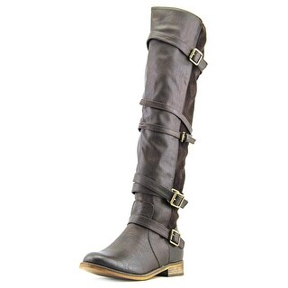 Wanted Bayon Women Round Toe Synthetic Knee High Boot