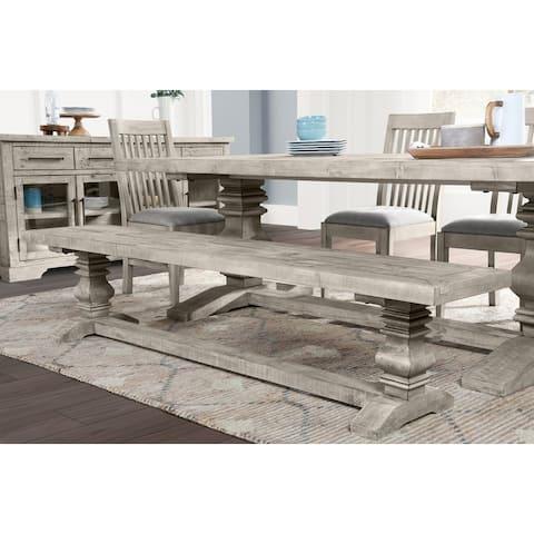 Sagrada Sierra Gray Dining Bench