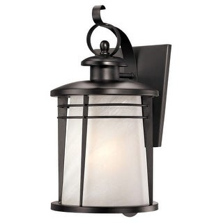 "Westinghouse 6674200 16.25"" Tall 1 Light Outdoor Lantern Wall Sconce from the Se"