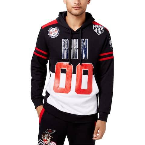 Reason Mens Rival Hoodie Sweatshirt, Multicoloured, X-Large