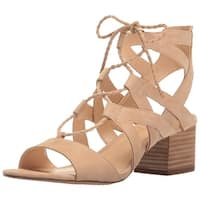 Vince Camuto Womens Fauna Leather Open Toe Casual Strappy Sandals