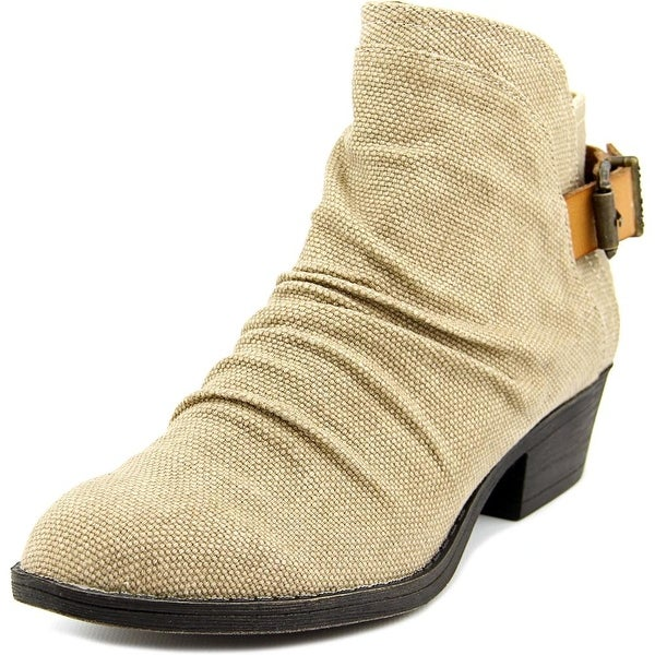 Blowfish Seastie Women Round Toe Canvas Ankle Boot