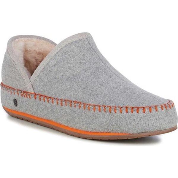 6ea89e024d5ae Shop EMU Women's Lochlan Slipper Dove Grey Felted Wool - Free ...