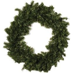 - Canadian Pine Wreath 300 Tips; 30""