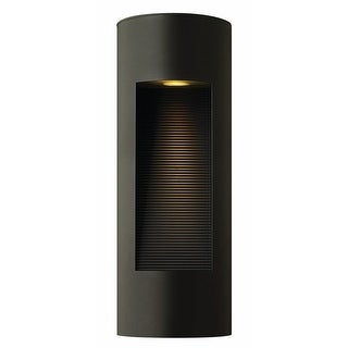 """Hinkley Lighting H1660 16.75"""" Height 2 Light ADA Compliant Dark Sky Outdoor Wall Sconce from the Luna Collection"""