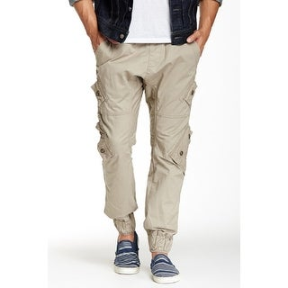 Royal Premium Young Men's Solid Twill-Cargo Jogger Pants (5 options available)