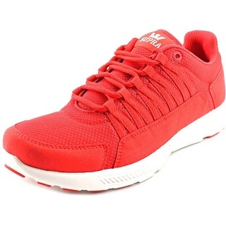 Supra Owen Women Round Toe Synthetic Red Running Shoe