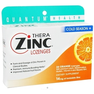 Quantum Research Cold Season Plus Orange 24 Lozenges
