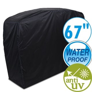 "67"" Waterproof Dustproof Anti UV Gas Grill Cover BBQ Canopy OutdoorHeavy Duty Cover"