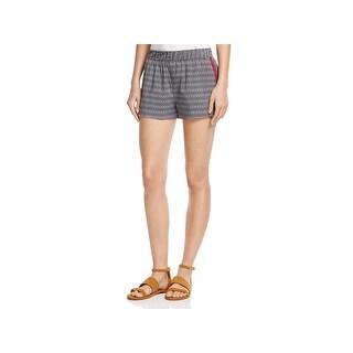 Soft Joie Womens Elowen Casual Shorts Cotton Printed