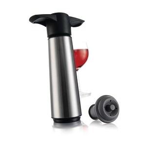 Link to Vacu Vin Original Stainless Steel Wine Saver Pump W/ 1 Stopper Similar Items in Glasses & Barware