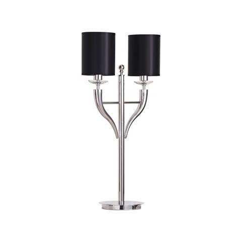 Optima Table Lamp Black Shades