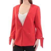 Womens Orange Wear To Work Suit Jacket  Size  10