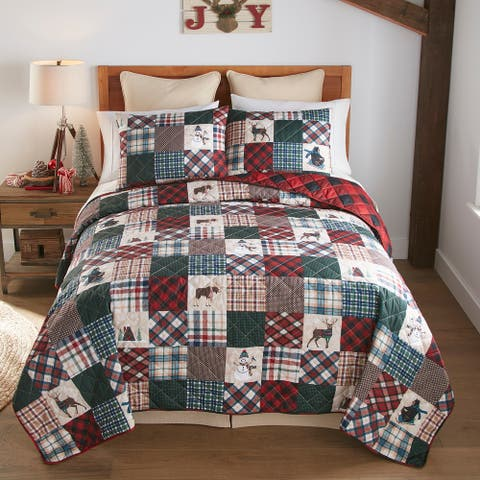 "Your Lifestyle by Donna Sharp ""Snow Day"" Quilt Set"
