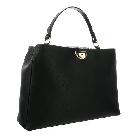 Roberto Cavalli Class Black Everyday Shoulder Bag