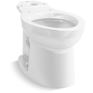 Kohler K-25086  Kingston Elongated Toilet Bowl Only - White