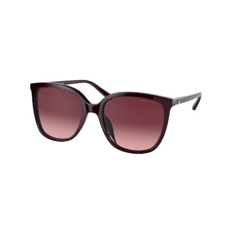 Michael Kors MK2137U 33448H 57 Cordovan Woman Square Sunglasses