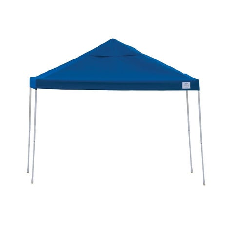 Shelterlogic Terracotta Blue Straight Leg Pop-up Canopy with Roller Bag (10' x 20')