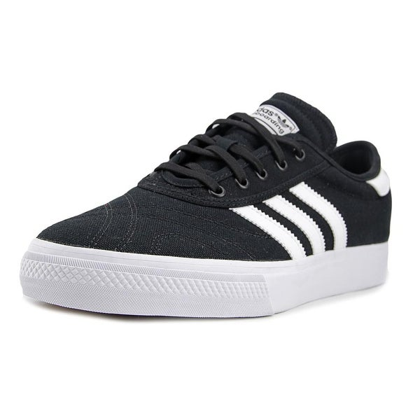 Adidas Adi-Ease Premiere Men Round Toe Canvas Black Skate Shoe