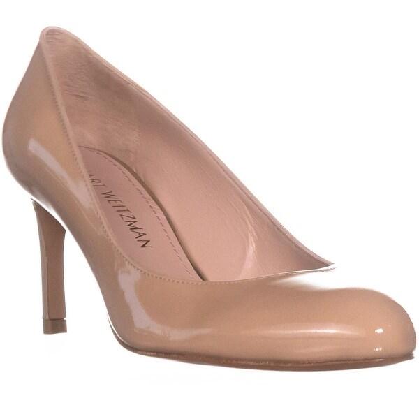 Stuart Weitzman Moody Classic Heels, Adobe