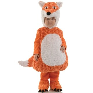Underwraps Fiery Fox Toddler Costume - Orange