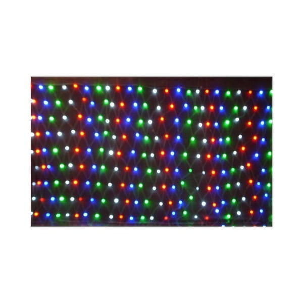 Christmas at Winterland WL-240MM-3M-NL-3CH 240 Multicolor LED Net Light with 3 Channel Controller