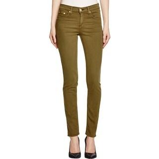 Rag & Bone/JEAN Womens Skinny Jeans Tencel Blend Twill