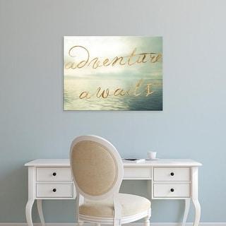 Easy Art Prints Sonja Quintero's 'Water Bliss II' Premium Canvas Art