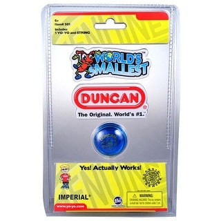 World's Smallest Duncan Yoyo