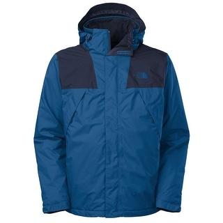 The North Face Mountain Light Insulated Jacket Medium M Snorkel Blue Hooded