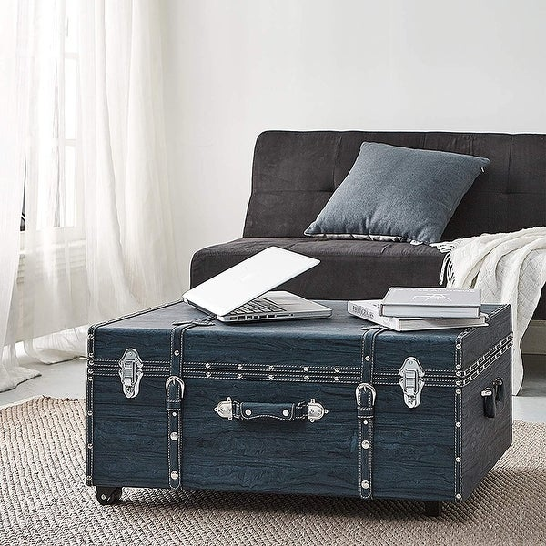 Texture® Brand Trunk - Marble Navy. Opens flyout.